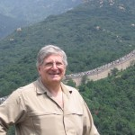 Eugene Marlow at The Great Wall of China in Beijing