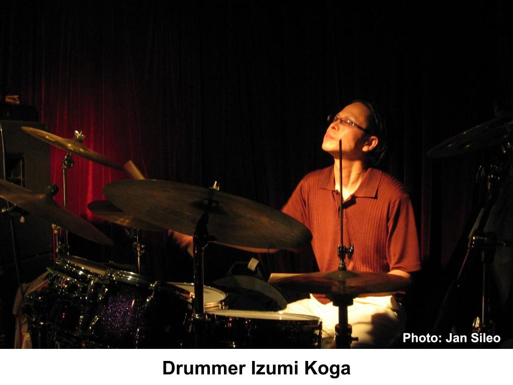 Drummer Izumi Koga