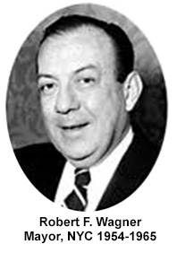 Robert F. Wagner, Mayor, NYC 1954-1965