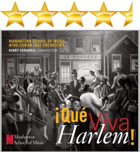 Que Via Harlem! 4 1/2 Stars