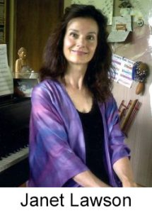 Grammy-nominated lyricist Janet Lawson